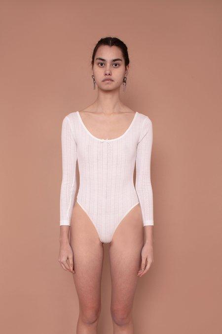 Meadows Hydra Bodysuit - White
