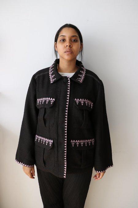 Pre-loved Cynthia Rowley The Damen Utility Tweed Jacket - black