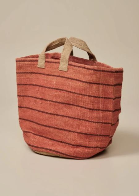 Bellerose Gallon Bag - Brick/Burgundy