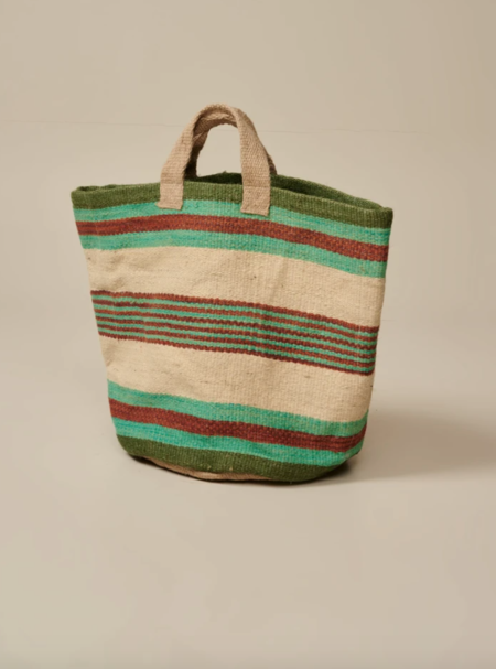 Bellerose Gallon Bag - Teal/Natural