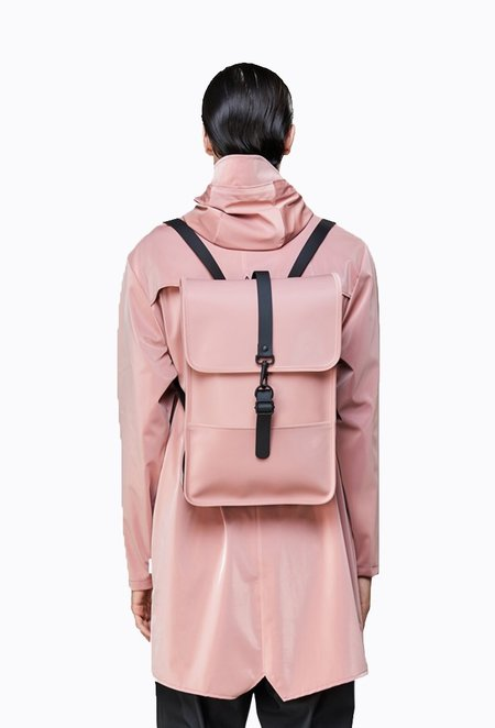 Unisex Rains Backpack Mini - Blush