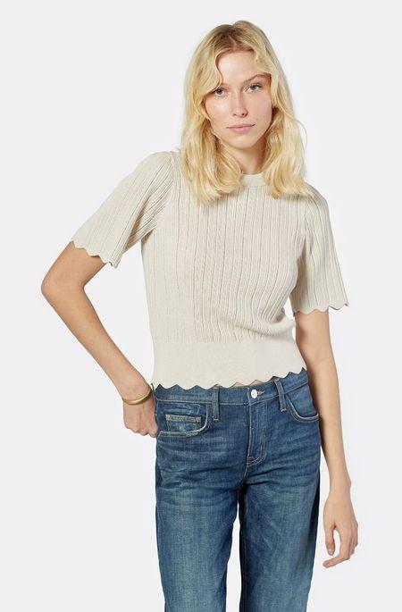 Joie Apollina Short Sleeve Sweater - Peyote