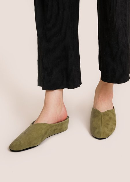 About Arianne Bao Slippers - Olive
