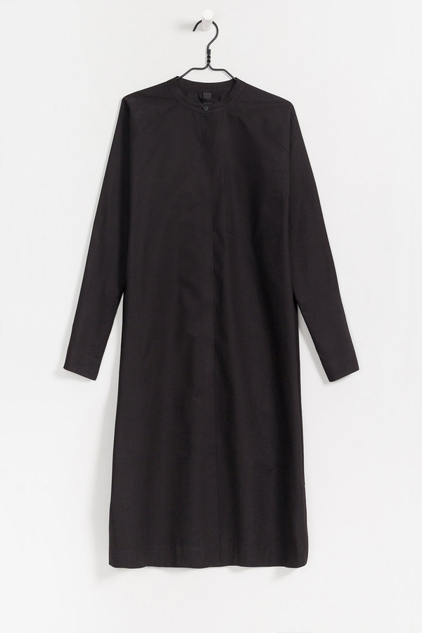 Kowtow Stahl Housecoat in Black