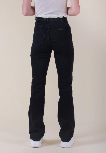 Rollas Original Straight Long Jeans - comfort jet black