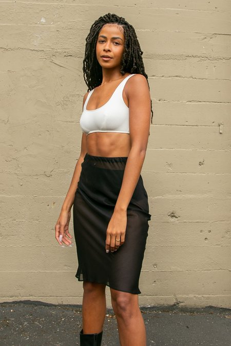 Angie Bauer Carly Skirt - Black