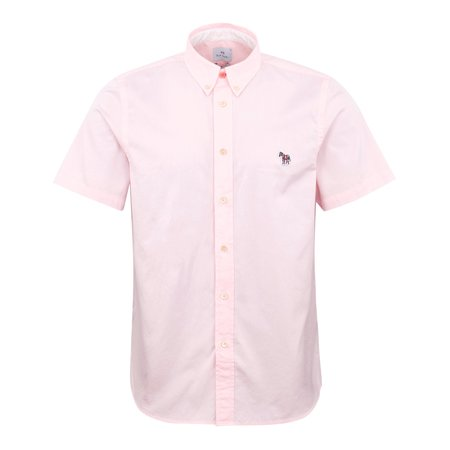 Paul Smith Zebra Tailored SS Shirt - Pink