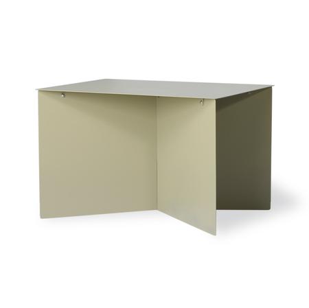 HKliving Metal Side Table - Olive Green