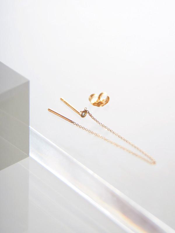 Still House Vesa Earring White Diamond