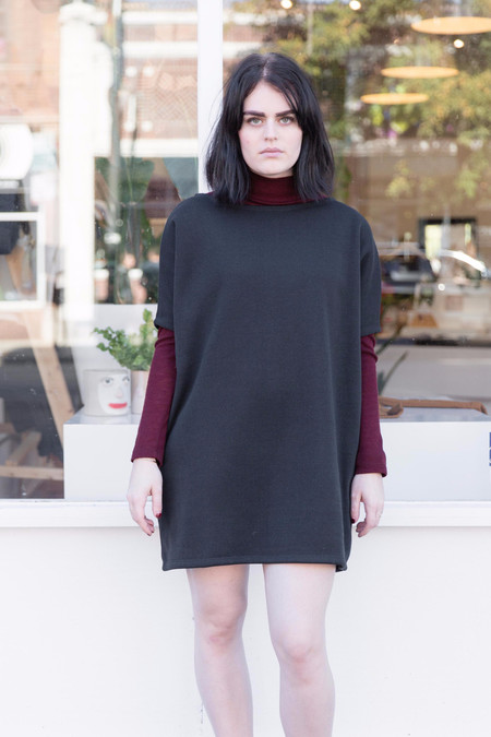 Mary Meyer Sweater Biggie Dress in Black