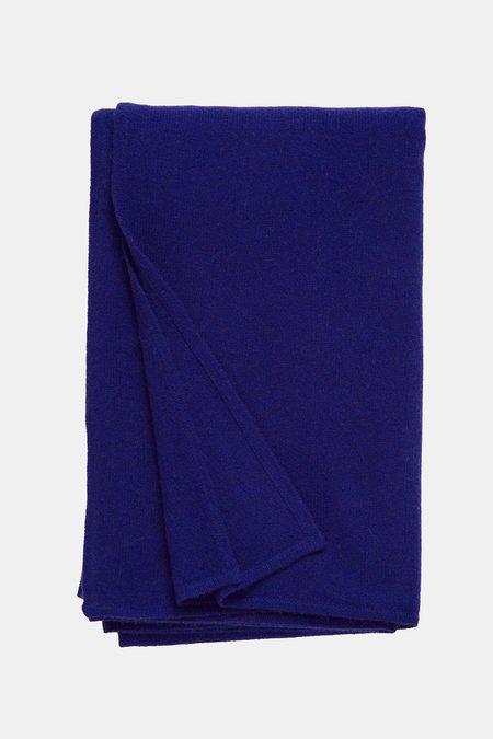 Oyuna Daya Cashmere Throw - Deep Blue