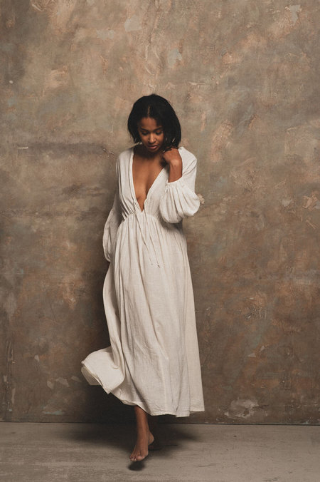 A PERFECT NOMAD Wild Heart dress - white