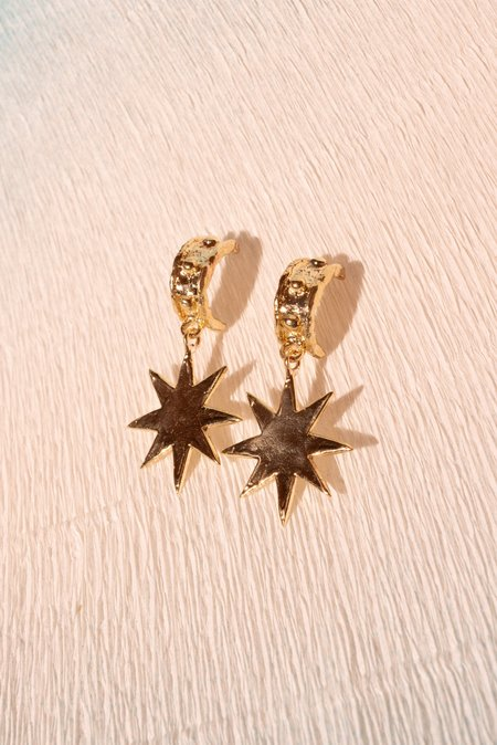 Mondo Mondo Big Star Earrings