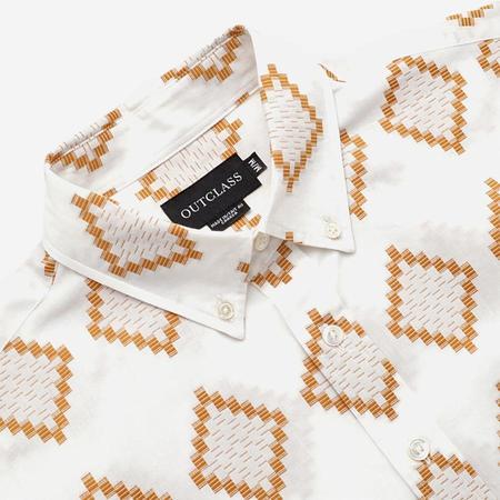Outclass Short-Sleeve Shirt - Turmeric Southwestern