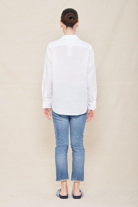 Frank & Eileen Linen Eileen Shirt - WHL WHITE LINEN