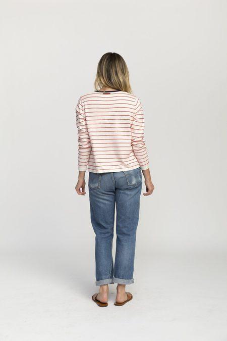 Trovata Saylor Sweater - red stripes