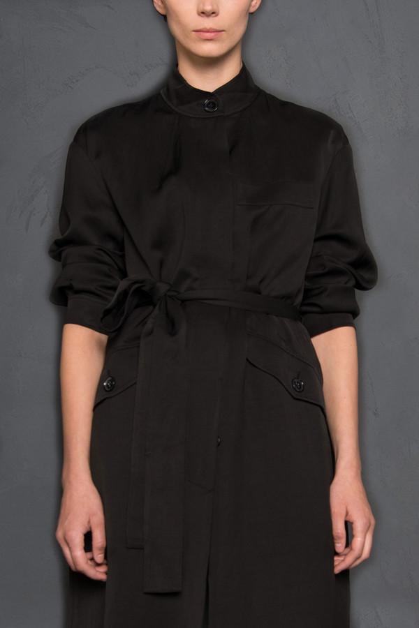 Hope Mandarin Collar Coat