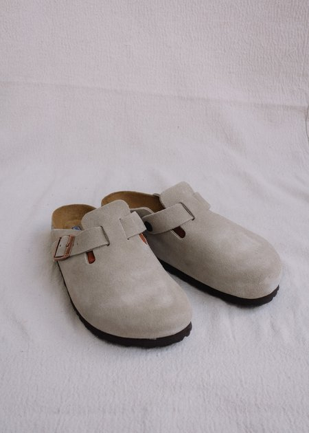 Birkenstock Boston Soft Footbed shoes - Taupe