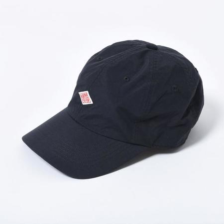 Danton Nylon 6-Panel Cap - Black