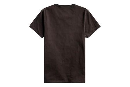 RRL Logo Crewneck T-Shirt - Faded Black Canvas