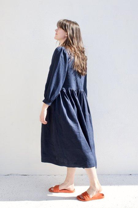 Shelter Gloria Dress - Navy