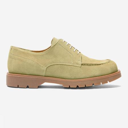 Kleman Frodan V Suede Derby Shoes - Kaki Green