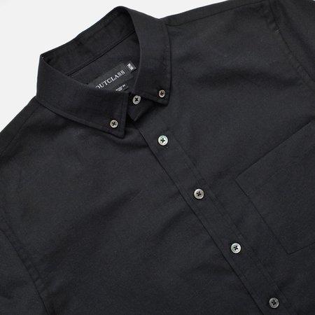 Outclass Linen S/S Shirt - Black