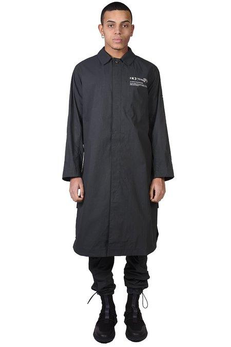 Tobias Birk Nielsen Long Coat - Faded Black