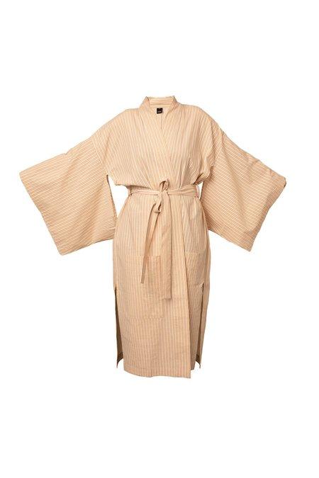 Else Hamptons Kimono - Flax