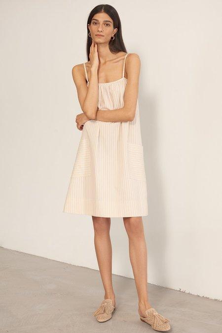 Else Hamptons Slip Dress - Flax