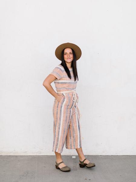 Roolee Stripe Jumpsuit