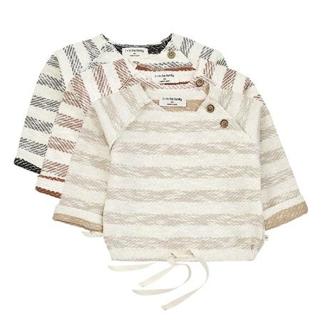 Kids 1+ In The Family Axel Sweatshirt With Stripes