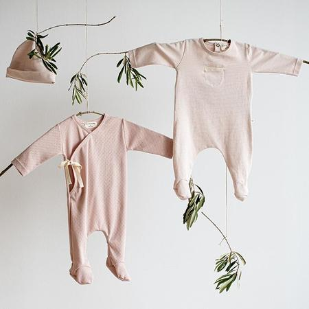 kids 1+ In The Family Baby Sonia Jumpsuit With Feet