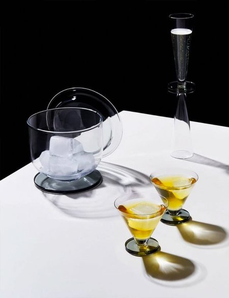 Tom Dixon Puck Ice Bucket - Clear
