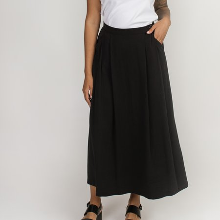 Allison Wonderland Hinge Skirt - Black