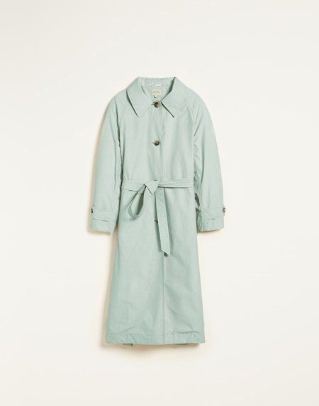 Mabel and Moss Bellerose Vera Trench Coat - green pastel