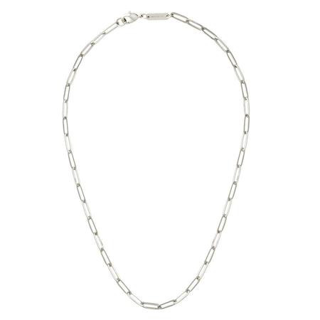 MachetePetite Paperclip Chain Necklace - Silver