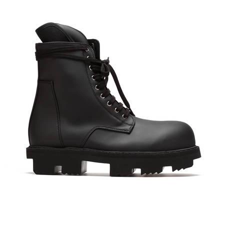RICK OWENS DRKSHDW Army Megatooth boot - Black