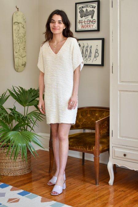 Valerie Dumaine Pembroke Dress - Ivory