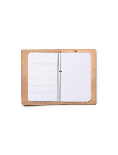 Calepino Leather Portfolio Dot Grid Paper no.4