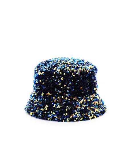 Maison Michel Axel Flora Sequined Bucket Hat - Multicolor