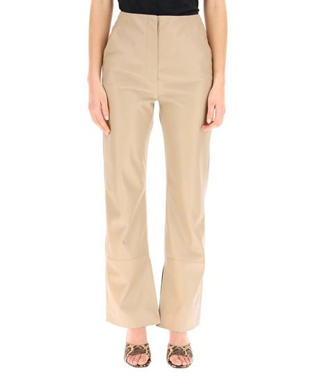 Nanushka Rhyan Vegan Leather Trousers - Beige