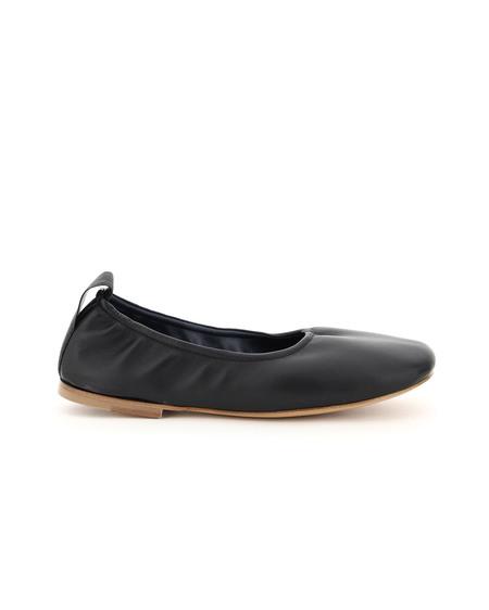 Lanvin Soft Nappa Ballet Flats