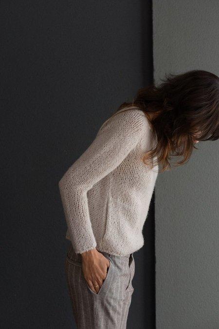 Private 0204 Handknit Cashmere Sweater - Sand