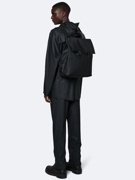 unisex Rains Messenger Bag - Black