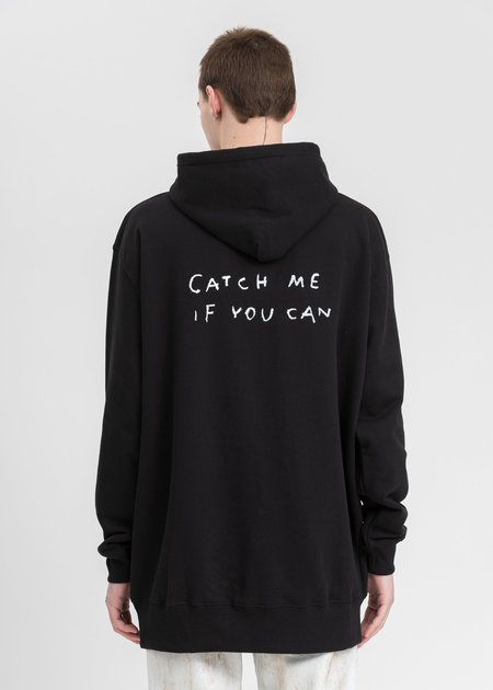 Guernika  Paint Hoodie sweater - black