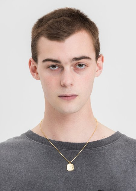 DEPARTMENT Coin Necklace - Gold