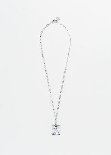 SANN STELLER LET'S RICH Pendant Necklace - Silver