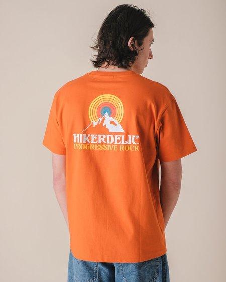 HIKERDELIC PROG ROCK T-SHIRT - ORANGE