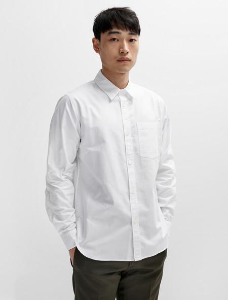 Margaret Howell Minimal Shirt Classic Oxford White